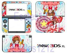 Anime Cardcaptor Sakura Clow Vinyl Skin Sticker Decals Nintendo New 3DS XL 2015