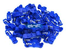 50 PACK BLUE 16-14 GAUGE 14-16 AWG T-TAPS ELECTRICAL WIRING - SHIPS FREE TODAY!