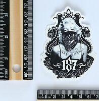 Marilyn Monroe gangster tattoo punk graffiti style decal sticker #2641