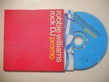ROBBIE WILLIAMS : ROCK DJ (PROMO) ♦ CD SINGLE PORT GRATUIT ♦