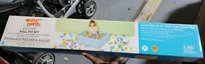 Antsy Pants Build and Play Ball Pit Kit - PLAY BALLS NOT INCLUDED - damaged box