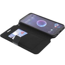 Funda Para HTC Desire 12 Plus Book Style Protección Teléfono Móvil Libro Negro