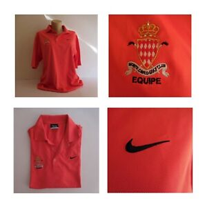 Polo rouge Monte-Carlo Golf Club Equipe Monaco sport collection Nike N4179