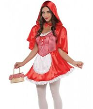 Sexy Red Riding Hood Costume Ridinghood Womens Adult - Large L 10-12 -