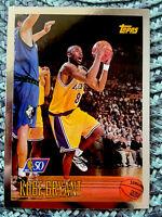 1996-97 Topps #138 KOBE BRYANT 50th Anniversary Foil RC Rookie Card Lakers PSA