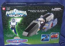 """Power Rangers Lost Galaxy Blue Galactic Speeder with 5"""" Blue Ranger New"""