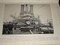 1896 Castello di Prua Hms Sans Pareil ~ Hms Victoria Storia