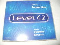 LEVEL 42 - FOREVER NOW - 1994 UK CD SINGLE