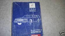 1988 Buick Electra & LeSabre Wagon Service Shop Repair Manual 88 FACTORY GM 88