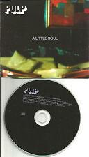 Jarvis Cocker PULP A Little Soul w/ RARE REMIX EUROPE made PROMO DJ CD single