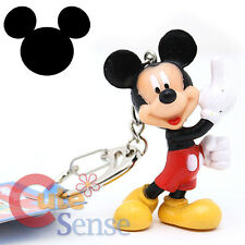 "Disney Club House Mickey Mouse  Key Chain 2.5"" PVC Figure"