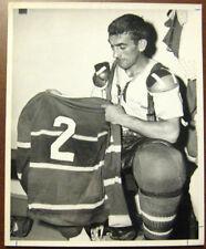 1960's Lou Fontinato Montreal Canadiens Original Photo