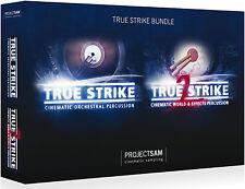 NEW Project Sam True Strike 1 & 2 Orchestral Cinematic Kontakt Bundle VST RTAS