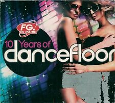 COFFRET DIGIPACK 6 CDS 120 TITRES--10 YEARS OF DANCEFLOOR / DANCE MUSIC