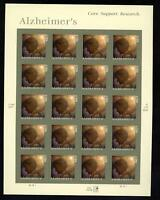 SCOTT 4358 2008 ALZHEIMER'S AWARENESS ISSUE MINT SHEET NH VF CAT $17!