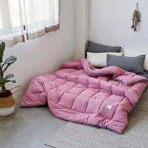 Luxury thicken spring camel hair quilt quality stitching comforter/duvet/blanket