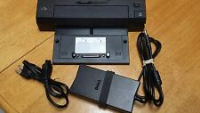 Dell Docking Station E Port Plus PRO2X Latitude, 130w power supply included.