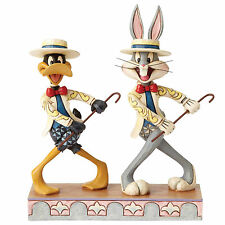 On with the show, Bugs Bunny & Daffy Duck Figurine New in Box