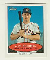 2020 Topps Heritage BAZOOKA TEST MINI #2 ALEX BREGMAN Houston Astros