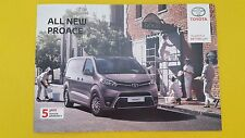 Toyota Proace Base Grade Comfort Combi van brochure catalogue November 2016 Ace