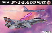 """GreatWall L7206 1/72 Scale F-14 Tomcat""""VF-1 Wolf Pack"""" 2019 NEW MODEL"""