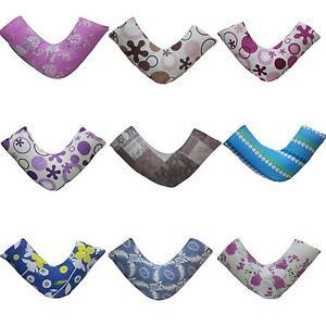 NEW Designer 100% Egyptian Cotton T200 V Pillowcases Orthopedic Cover HUGE RANGE