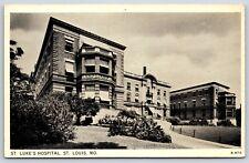 St. Luke's Hospital in St. Louis, Missouri Divided Back Postcard Unused