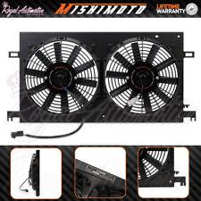 MISHIMOTO TOYOTA GT86 Rendimiento Radiador Ventilador De Refrigeración Negro Cubierta De Aluminio