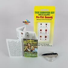 Pro-tick Remedy Deer tick Dog tick Lone Star tick remover for people and pets