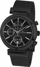 Jacques Lemans Verona 1-1699E Men's Chronograph Metal Bracelet Quartz Watch WR
