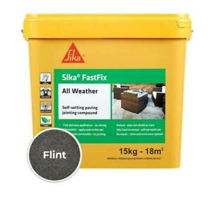 Sika FastFix All Weather Self-Setting Paving Jointing Compound FLINT