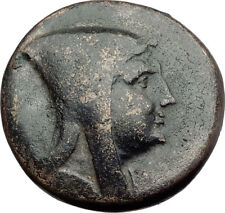 AMISOS in PONTUS 120BC Mithradates VI Quiver Authentic Ancient Greek Coin i64516