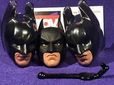 Hot Toys DARK KNIGHT RISES DX12 Batman 1/6 Head Interchangeable Mask PERS Stick