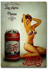 Say Pepsi Please Pepsi Cola Vintage Advertising Fridge Magnet 2x3