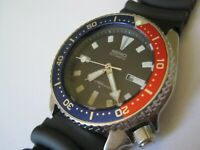 ICONIC SEIKO 150M DIVERS SUBMARINERS MECHANICAL AUTOMATIC 36MM WATCH 4205-0155