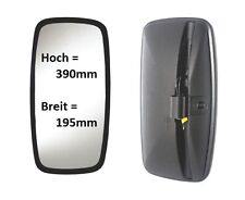 Außenspiegel Ersatzspiegel Mercedes Star Bus LKW 390x195mm ø 18-24mm Beheizt 24V