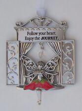 z Follow your heart enjoy the journey Garden Fairy Window Ornament ganz