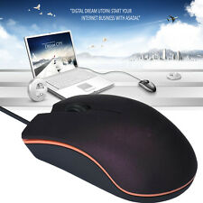 1600 DPI USB Wired Optical Gaming Mouse Mice Comfortable Standard Office Mouse