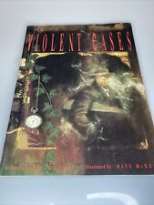 Violent Cases - Neil Gaiman Dave McKean 1991 Tundra Comics 1st Ed. Graphic Novel