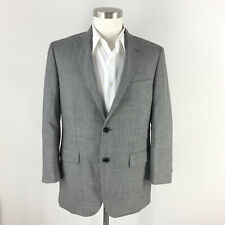 Indochino Gray Suit 100% Wool 41 S custom Flat Front Excellent