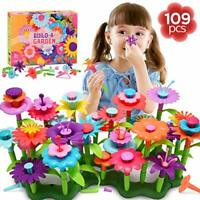 dmazing Toys for 3-8 Year Old Girls Toddlers, Flower Garden Building Toys