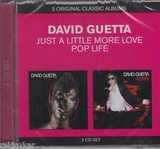 David Guetta / Pop Life & Just A Little More Life (2 CDs, NEU!)