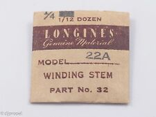 Longines Genuine Material Stem Part 32 for Longines Cal. 22A