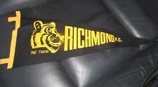 Richmond 1980 VFL Premiers Pennant /  Flag - old - rare - original   (Black)