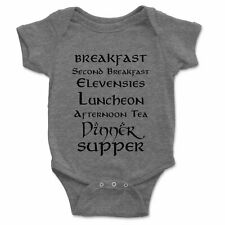 Second Breakfast Infant Baby One Piece Unisex Kids Clothes