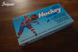 1985 Ice Hockey Card Game Oilers Jets Jeu De Cartes Grand Toys