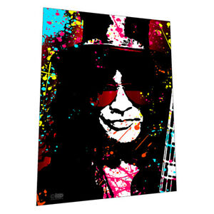 The amazing Slash of Guns N' Roses Wall Art - Graphic Art Poster