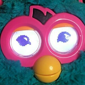 2012 Furby Bermuda Teal Blue w Pink iPad, iPod Touch iPhone App. WITH ISSUES
