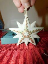 Vintage Lenox 1994 Annual Star Ornament