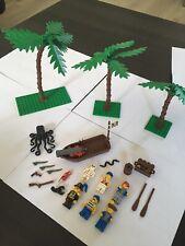 Rare lot lego pirates / Bateaux / Lego 6274/6285/6286/6270 Vintage Systèm